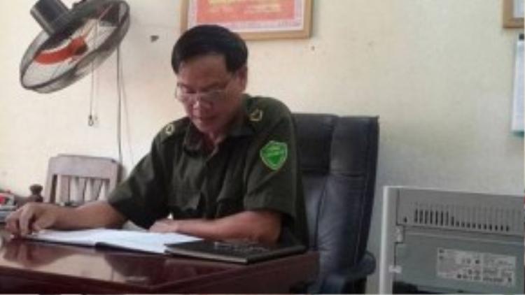 Ông Nguyễn Công Thủy - Trưởng Công an xã Trần Phú, huyện Chương Mỹ.