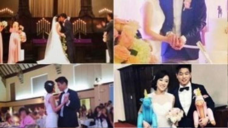 Những khoảnh khắc đẹp của Ki Hong Lee và vợ. Ảnh: Instagram.