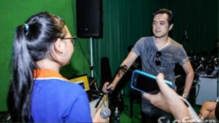 Hà Minh sẽ tiếp tục cùng thầy của mình chinh phục khán giả ở đêm liveshow 2.