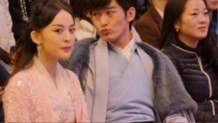 Vì yêu người đẹp, Trương Hàn ruồng rẫy tình cũ - nữ diễn viên Trịnh Sảng.