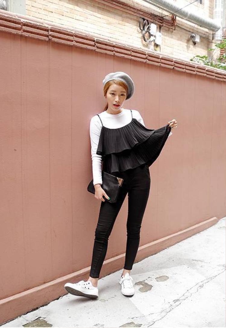3 xu hướng mix áo croptop mới toanh đang lên ngôi xứ Hàn