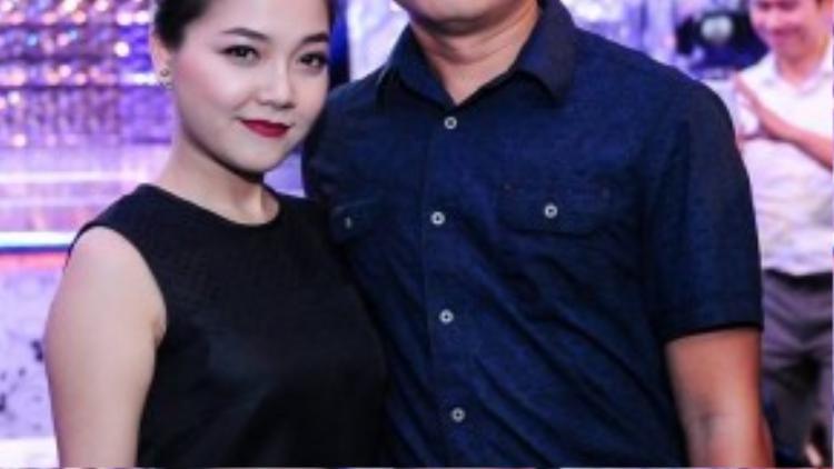 Vợ chồng ca sĩ Thanh Ngọc.