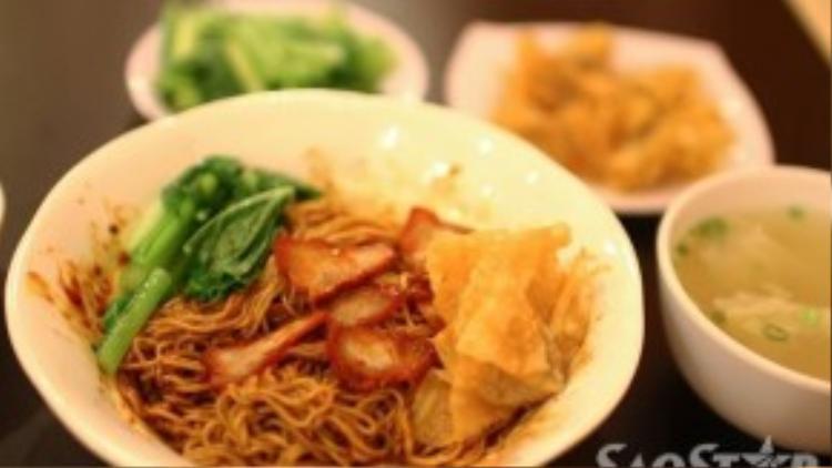 """Mì trộn Singapore """"ăn điểm"""" ở chính nước sốt tứ vị này."""