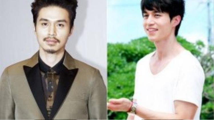 Với hàng râu kẽm và 2 chỏm râu, Lee Dong Wook từng bị nhận xét trông… đểu cáng với hình ảnh mới này.