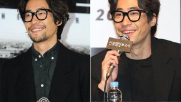 Tài tử Ryu Seung Bum trông lôi thôi nhếch nhác vì thú chơi nuôi râu dài khiến anh già hơn tuổi 35.