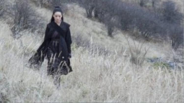 Đối với Thư Kỳ, Nhiếp Ẩn Nương là vai diễn đầy thử thách vì trước đây cô chưa từng đóng phim võ hiệp.