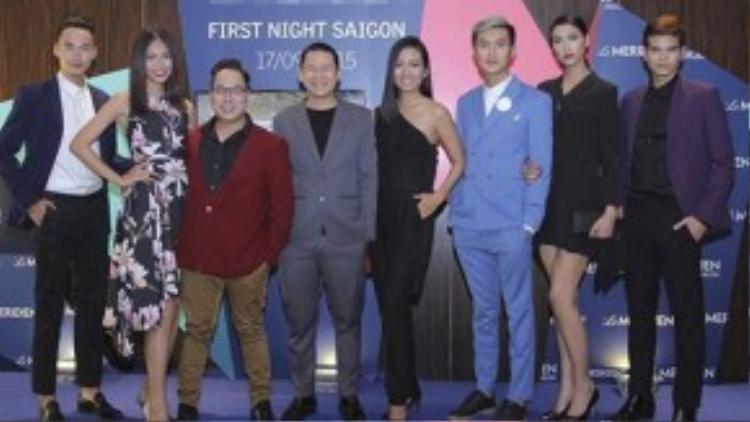 Ngoài các người mẫu nổi tiếng của Việt Nam, sự kiện còn thu hút khá nhiều gương mặt nổi trội trong showbiz Việt: ca sĩ Thu Minh, MC Tùng Leo, NTK Hoàng Minh Hà,…