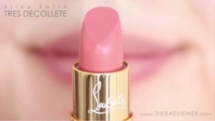 Thỏi Silky Satin Tres Decollete tone màu nhẹ nhàng sẽ là lựa chọn hoàn hảo cho những quý cô yêu thích vẻ đẹp tự nhiên.