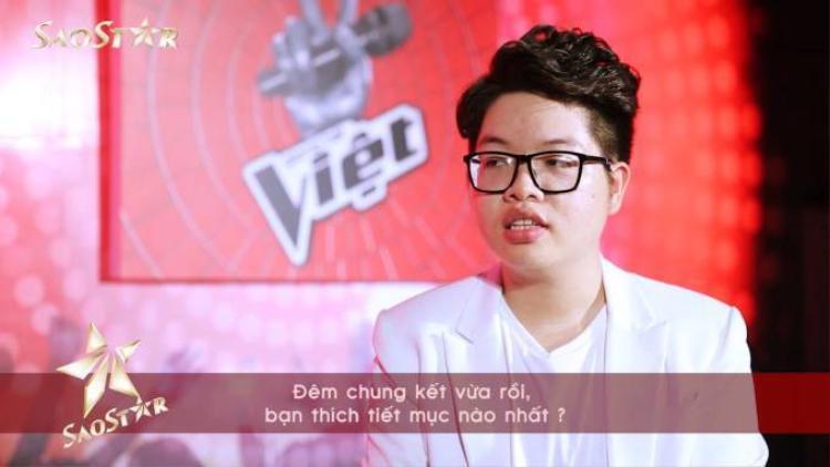 Clip: 4 thí sinh The Voice tám chuyện trước đêm trao giải