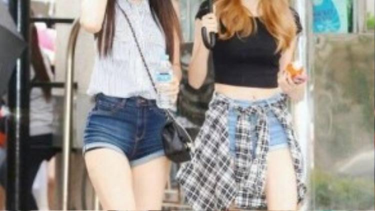 Dahye và Haeryeong