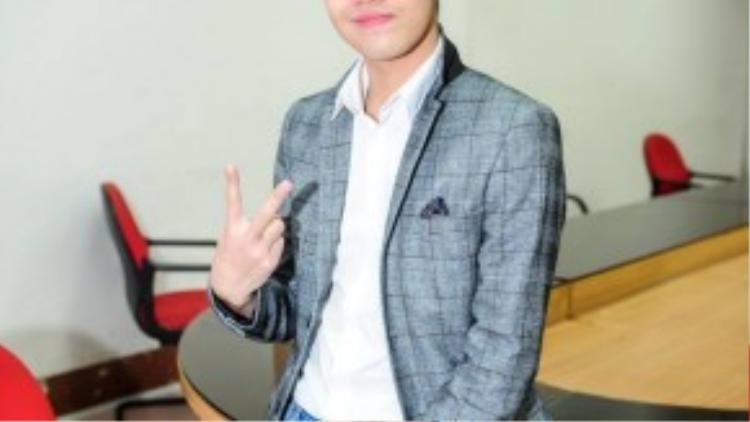 Noo Phước Thịnh là khách mời trong đêm Gala với tiết mục mở màn.