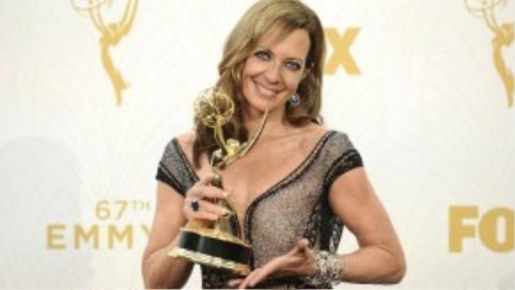 Allison Janney giành cúp Emmy thứ 6 trong sự nghiệp. Ảnh: Getty Images