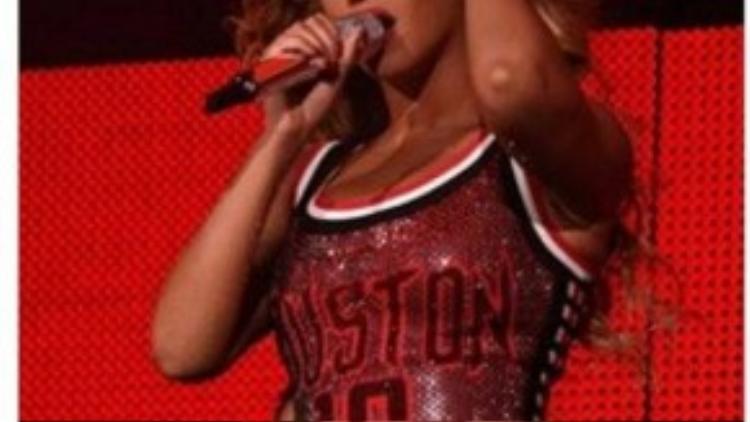 Bức ảnh Beyonce được Trúc Nhân chia sẻ trên trang Facebook riêng trước đấy.