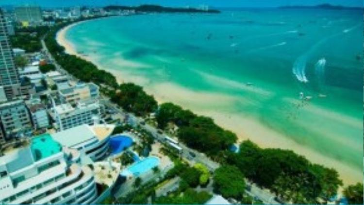 Pattaya, trung tâm du lịch biển hàng đầu Thái Lan.