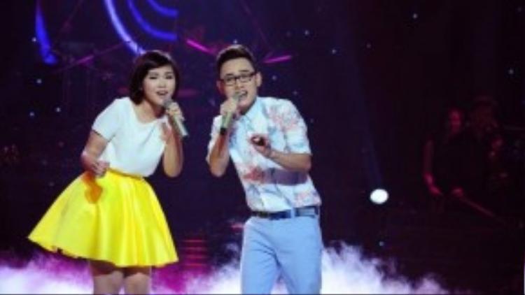 Trúc Nhân và Trương Thảo Nhi sẽ hát biểu diễn Bốn chữ lắm trong liveshow.