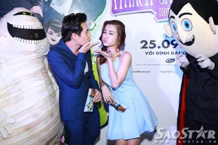 Đông Nhi sinh con cho Ông Cao Thắng trong phim mới