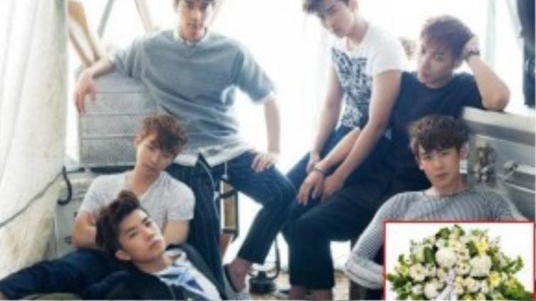 Trường hợp của nhóm nhạc 2PM nghiêm trọng không kém. Một anti-fan gửi đến nhóm lẵng hoa trong đó có loài hoa biểu tượng cho cái chết theo phong tục ở Hàn Quốc.