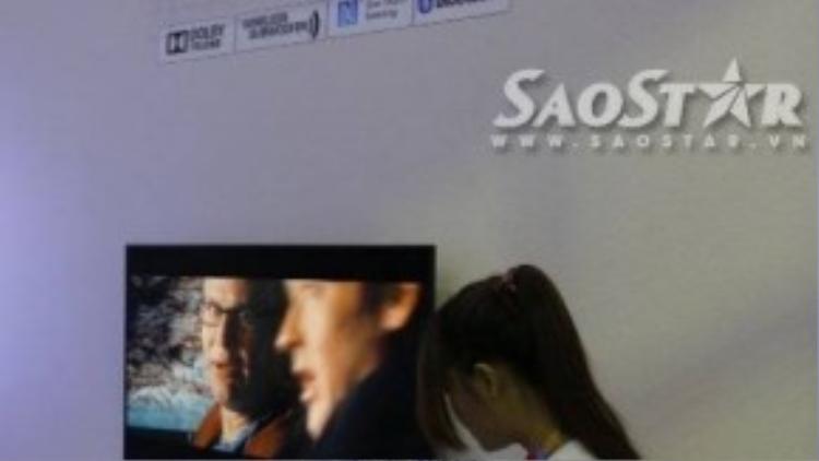 Phòng trải nghiệm Sound Bar của Sony Show 2015