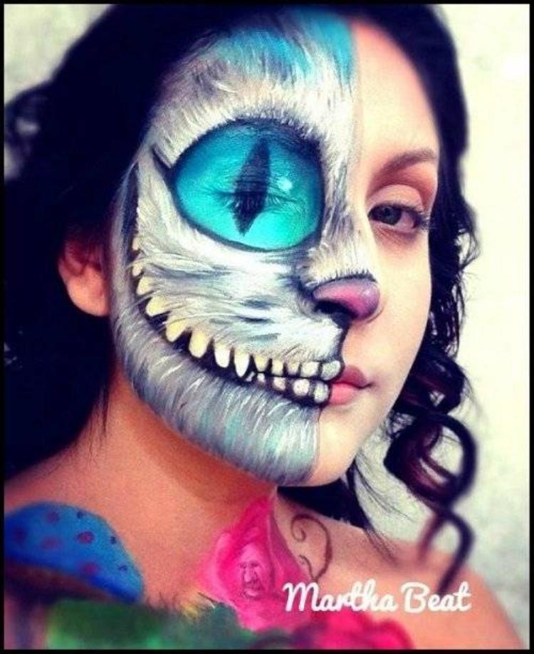 5 kiểu make up Halloween rùng rợn không thể bỏ qua