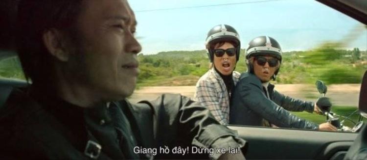 Già gân Hoài Linh đào tẩu cùng mỹ nhân Tóc Tiên trong phim mới