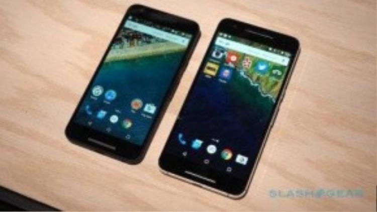 Những hình ảnh đáng chú ý của mẫu Nexus 6P.