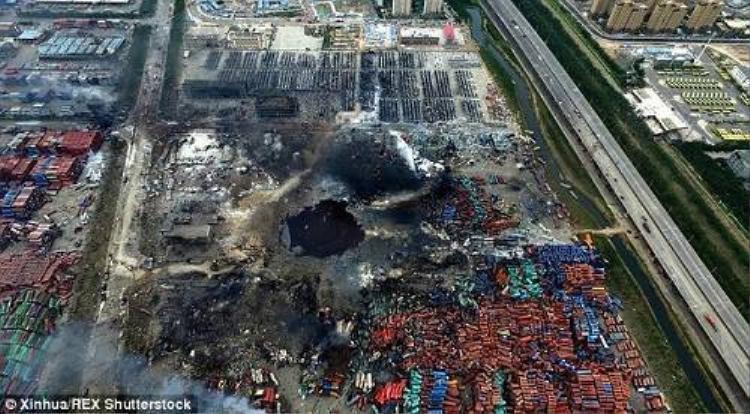 Lại thêm một vụ nổ lớn nhà máy hoá chất ở miền đông Trung Quốc