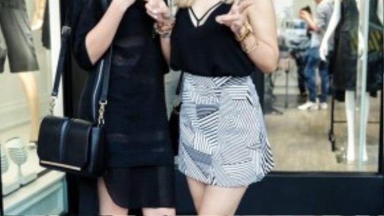 Hai cô trò cưng Thu Thủy và Yến Lê ngày càng xinh đẹp và cá tính. Cả hai cô gái đều được huấn luyện viên tạo cơ hội thoải mái thể hiện khả năng sáng tác trong cuộc thi.