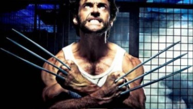 """Wolverine trong loạt """"X-Men"""": Tuy thuộc nhóm X-Men chính diện của Giáo sư X, """"Người Sói"""" Wolverine là một kẻ cô độc bởi anh luôn mang mặc cảm về quá khứ bản thân. Khả năng tự phục hồi ưu việt cùng khung xương làm bằng hợp kim adamantium khiến dị nhân gần như bất tử. Ngoài ra, ở nguyên tác truyện tranh, Wolverine nổi tiếng là người có lối chiến đấu cực kỳ tàn nhẫn."""