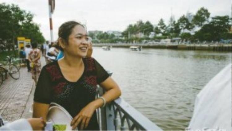 Chị Thu mong rằng tuyến du ngoạn này sẽ đem lại nhiều nét đẹp mới lạ cho du khách đến với TPHCM.