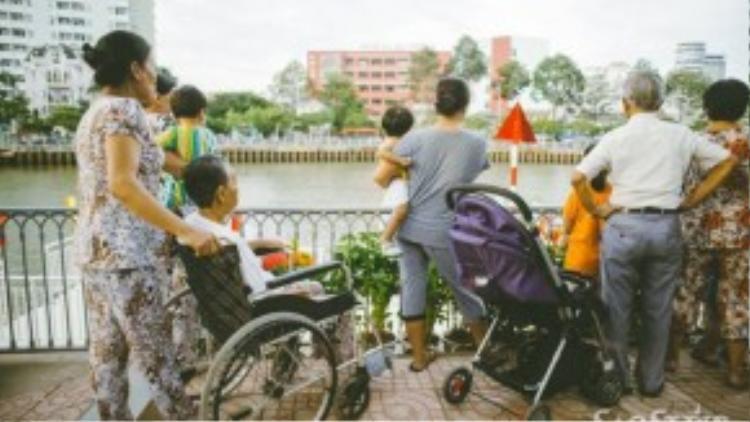 """Nhiều người còn hi vọng nơi đây sẽ trở thành """" Venice của Sài Gòn""""."""