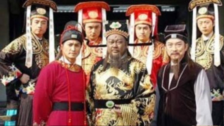 """Những diễn viên chính trong bộ phim """"Bao Thanh Thiên"""" phiên bản 1993."""