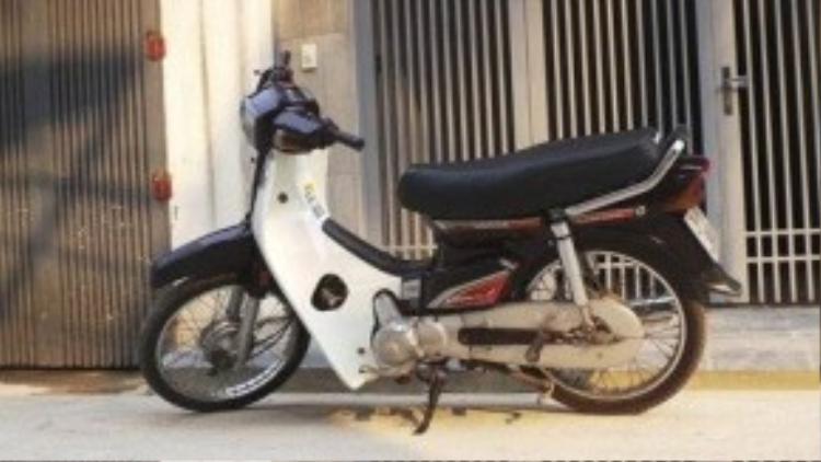 Chiếc Honda Dream vang bóng một thời.