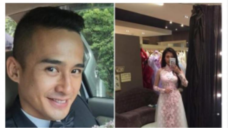 Một người bạn của Thuý Diễm cũng chia sẻ hình ảnh của cô trong tà áo dài truyền thống.