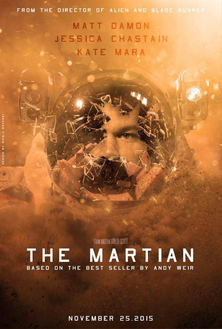 The  Martian hứa hẹn dẫn đầu cuộc chiến doanh thu trên thị trường Bắc Mỹ