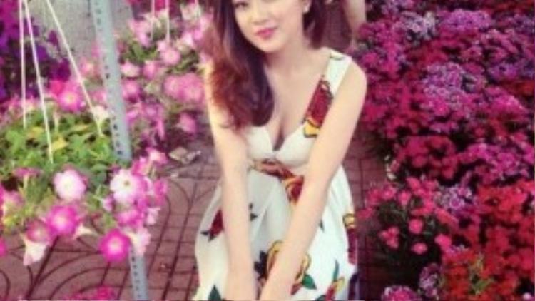 """Cô nàng 9X Đinh Thị Phương Thảo với hình ảnh """"bánh bèo"""" Việt Nam."""