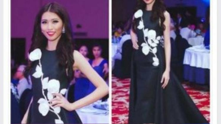 Nhà thiết kếĐỗ Mạnh Cườngcũng nhắn gửi đến cô em nhỏ thân thiết. Anh là người hỗ trợ trang phục cho Quỳnh Châu trong các đêm dạ tiệc bán kết và chung kết.