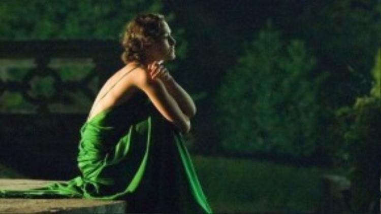 Cảnh quay tuy đơn giản nhưng chứng tỏ được tầm nhìn của đạo diễn.