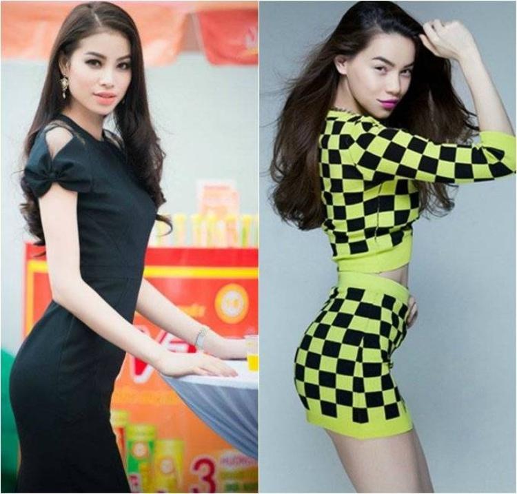Tân Hoa hậu Hoàn Vũ Việt Nam bị gọi là bản sao Hồ Ngọc Hà