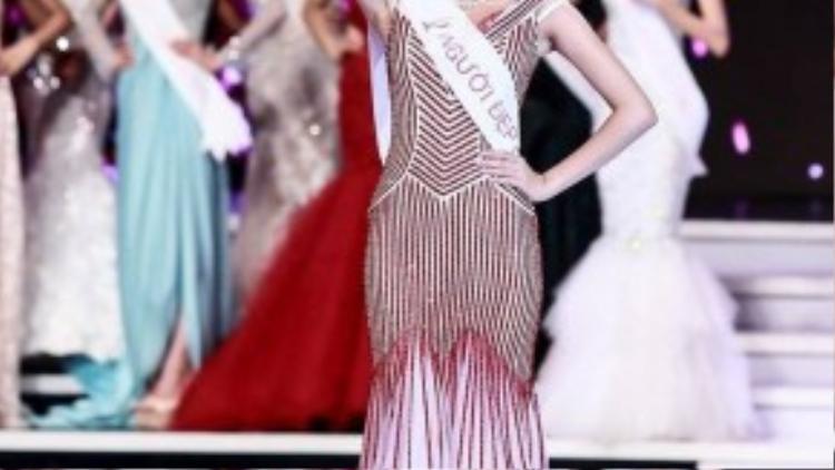 Khoảnh khắc đẹp của Hoa hậu Hoàn vũ Việt Nam 2015.