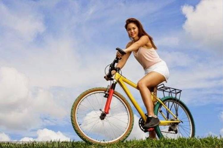 Đạp xe đúng cách đốt nhanh mỡ thừa