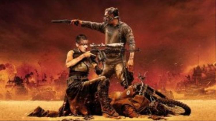Mad Max: Fury Road được ví như một bộ phim hành động xuất sắc nhất thập kỷ.