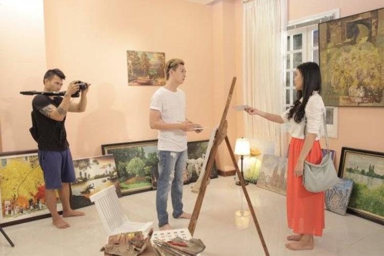 Chan Than San đóng cảnh nóng trong MV mới của Ngô Kiến Huy