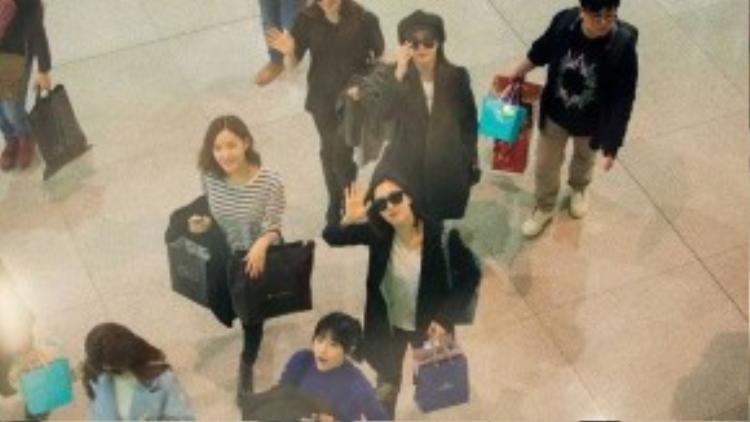 Nhóm nhạc Hàn Quốc thân thiện với khán giả.