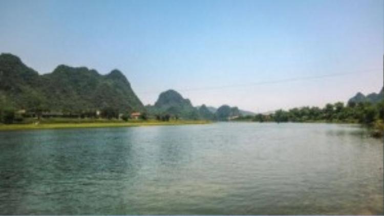 Phong Nha là một trong những phong cảnh đẹp nhất tôi từng thấy.