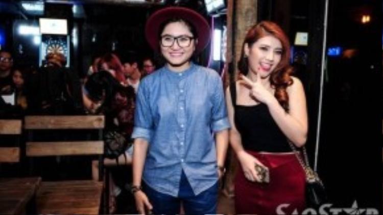 Vicky Nhung và Tố Ny