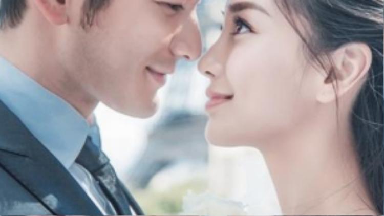Angela Baby và HUỳnh Hiểu Minh chuẩn bị chu đáo cho lễ cưới.