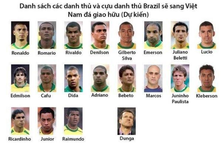 Người ngoài hành tinh Ronaldo sẽ sang du đấu Việt Nam