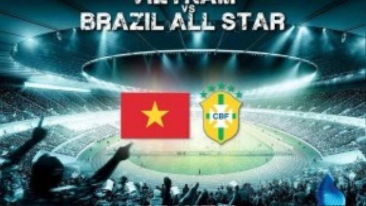 Người hâm mộ Việt Nam chắc chắn sẽ phát cuồng khi được chứng kiến những siêu sao Brazil một thời bằng xương bằng thịt.