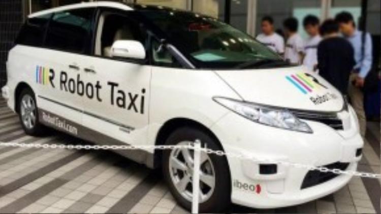 Hệ thống Robot Taxi đang được DeNA nghiên cứu ứng dụng vào Thế vận hội.
