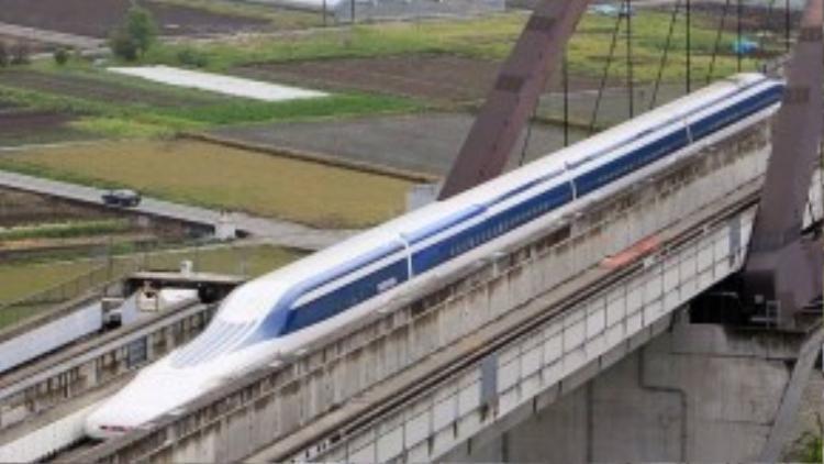 Tham vọng của xứ sở hoa anh đào là phát triển hệ thống tàu điện từ ở cả Nhật Bản và phương Tây.